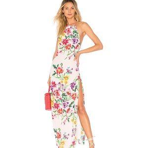 Floral Bell Maxi Dress
